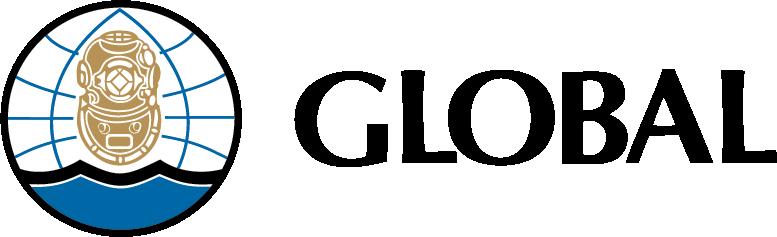 Logo for Global Diving
