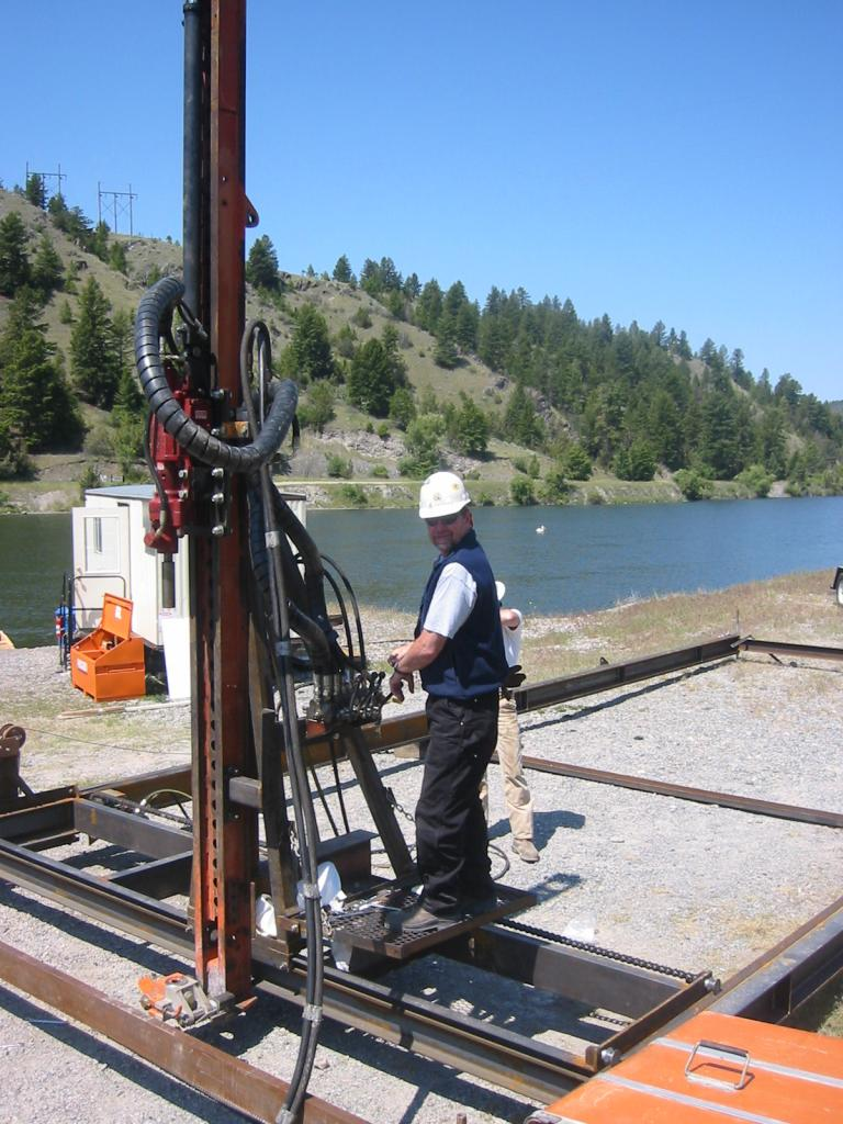 Underwater Drilling Equipment