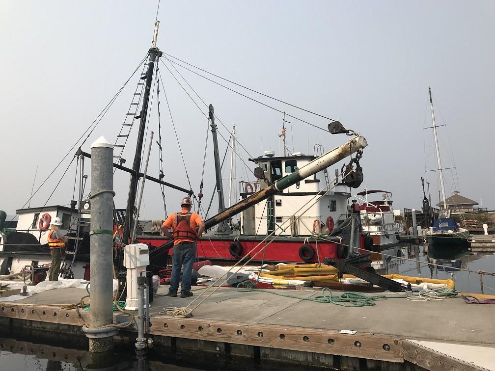 sunrise vessel refloat