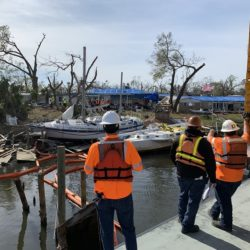 hurricane michael - survey team