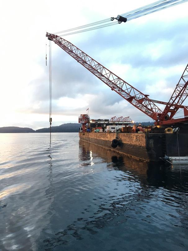 samantha j rov salvage barge