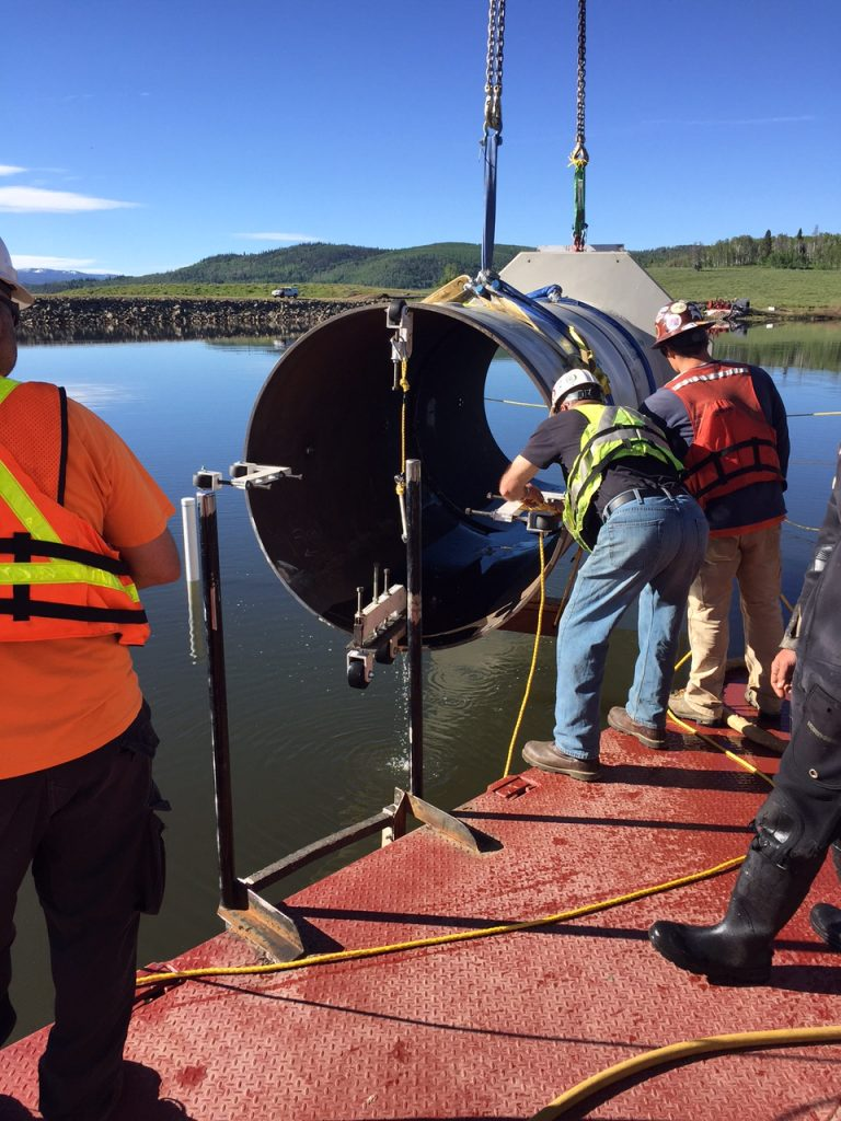 Willow Creek Dam rehabilitation