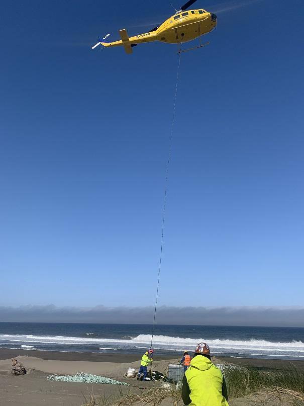 remote beach defuel