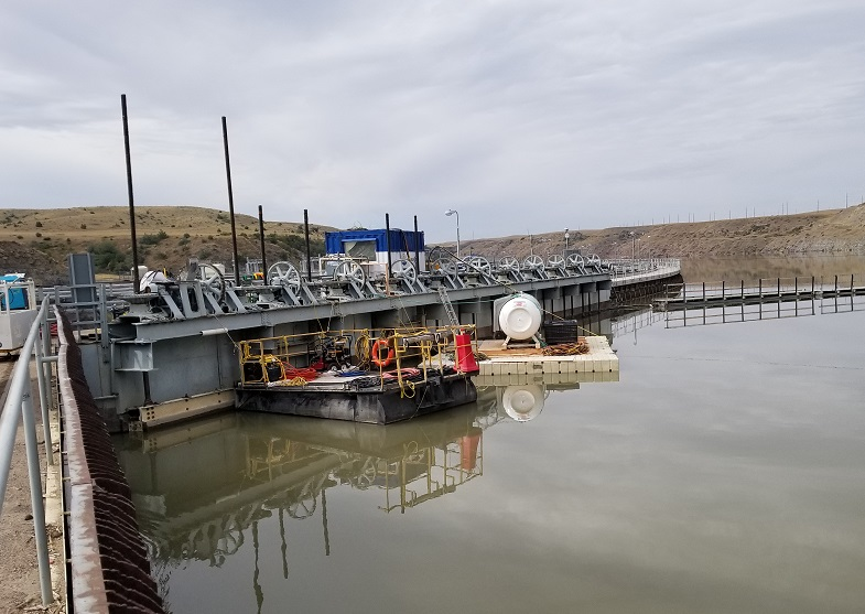 underwater grout repairs ryan dam