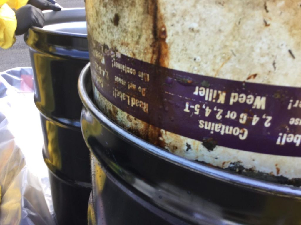 hazmat barrel recovery