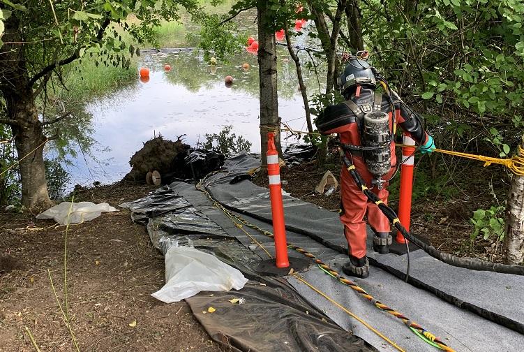 capitol lake targeted dredging