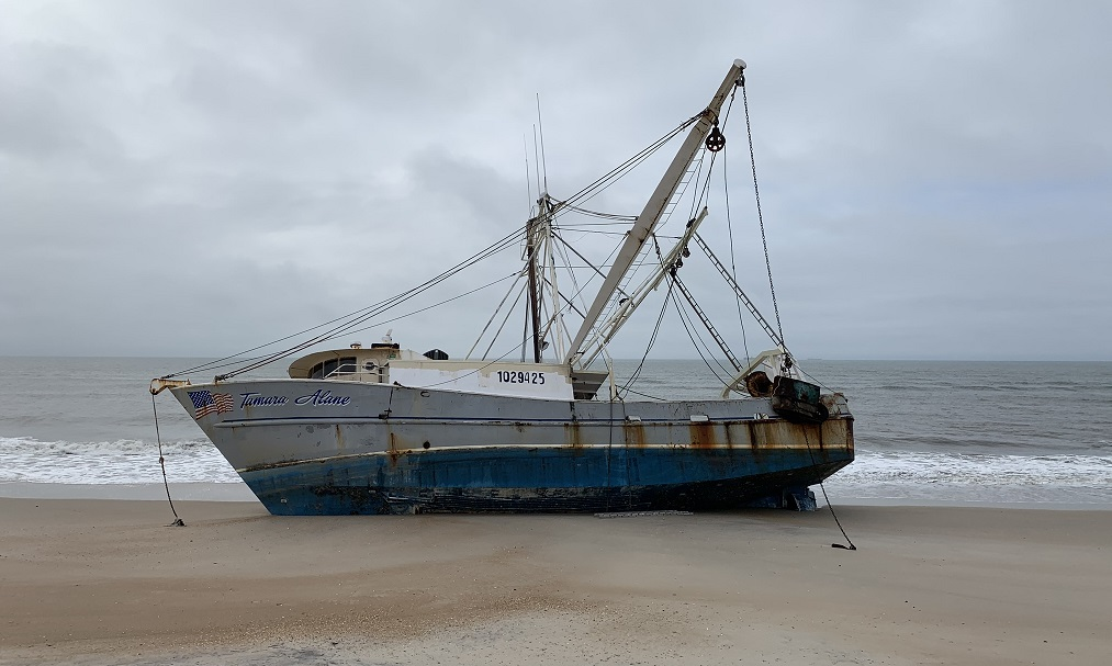 Tamara Alane vessel defueling