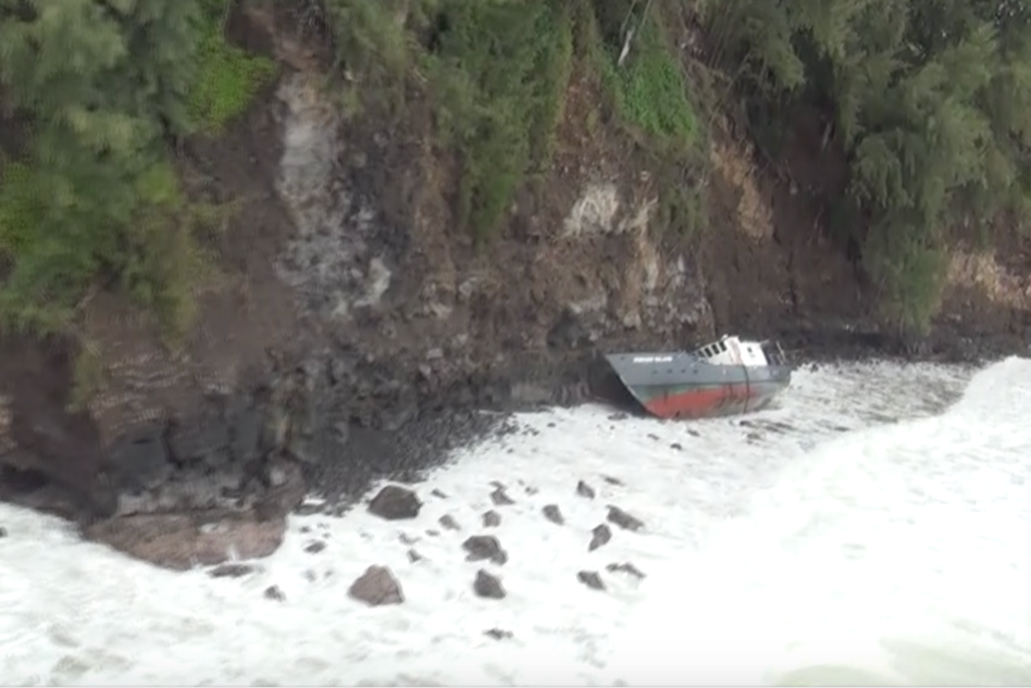 midway island hilo wreck removal