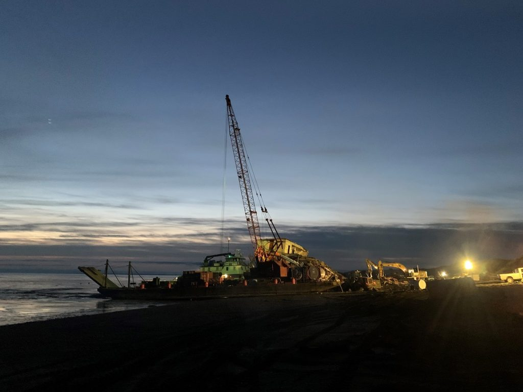 ak barge wreck removal