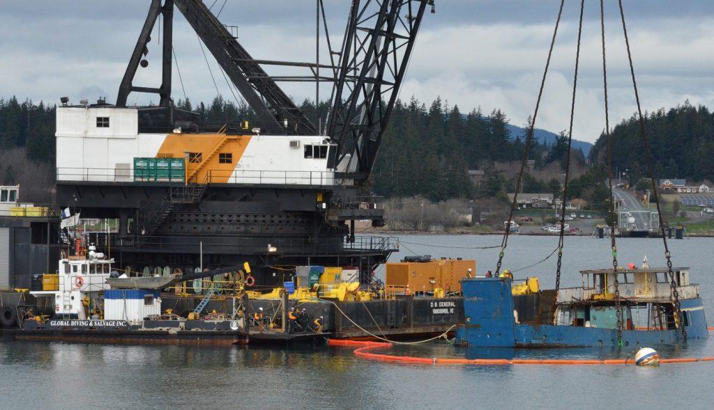 Chilkat vessel removal