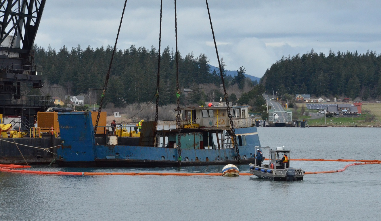 Chilkat vessel removal