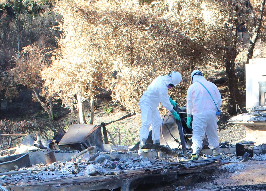 CA Wildfire Cleanup